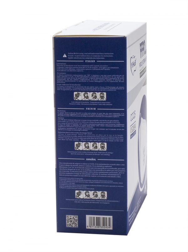 FFP2 NR Atemschutzmaske Z40086 (YiHuB) - 12 Stück